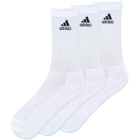 adidas 3S Per CR HC 3P Socks Unisex white/white/white